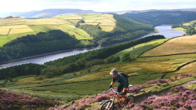 The Peak District is full of popular cycling trails. File pic