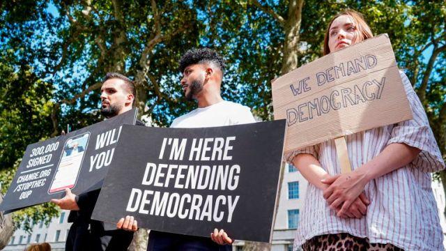 Anti-PM protest