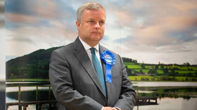 Chris Davies was the Conservative candidate