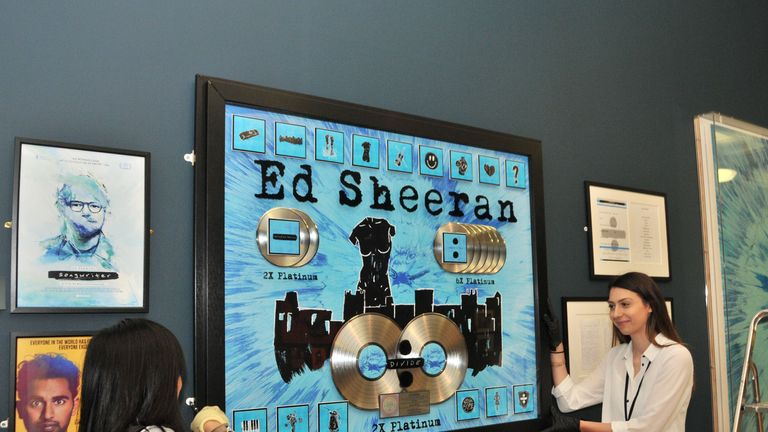 Ed Sheeran: Made In Suffolk exhibition, curated by his father John