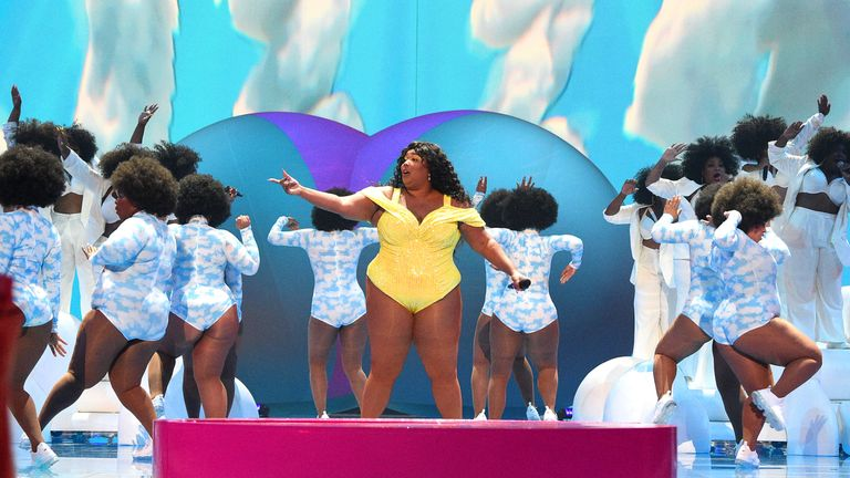 Lizzo drew praise for her performance