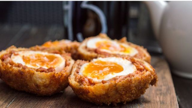 Scotch eggs have a lower salt content compared to other picnic foods
