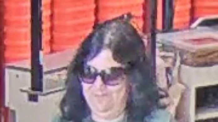 The unidentified woman has been accused of having taken part in at least four marriages since December. Pic: Comal County Crime Stoppers
