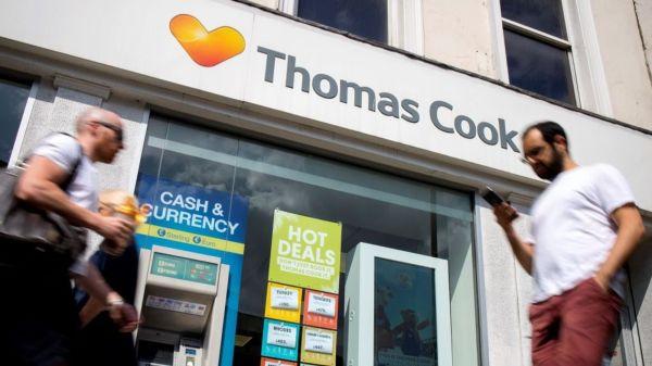 Rescue hopes fade as Thomas Cook slides towards collapse