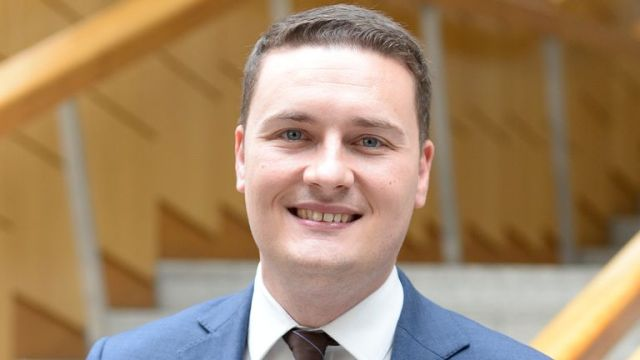 EDINBURGH, SCOTLAND - APRIL 25: Westminster Labour MP Wes Streeting in the Garden Lobby of the Scottish Parliament on a visit to seek the adoption of a definition of Islamophobia, on April 25, 2019 in Edinburgh, Scotland. Wes Streeting is chair of the Westminster All-Party Parliamentary Group on British Muslims.(Photo by Ken Jack/Getty Images)