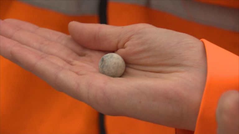 Musket balls have been found where the Battle of Worcester took place