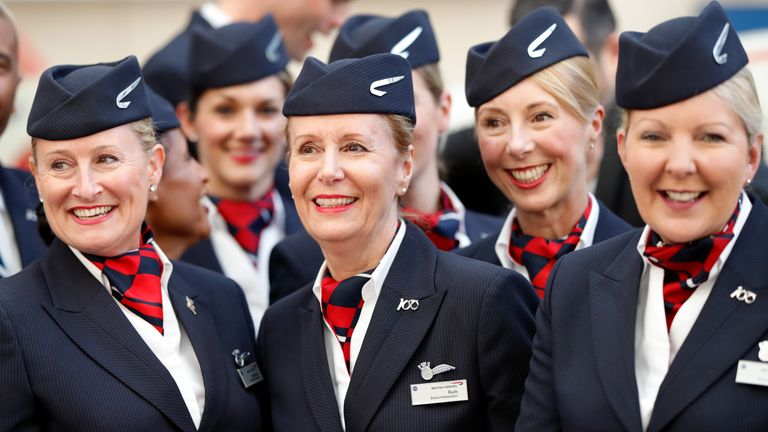 Unions for other BA staff have accepted the pay rise on offer