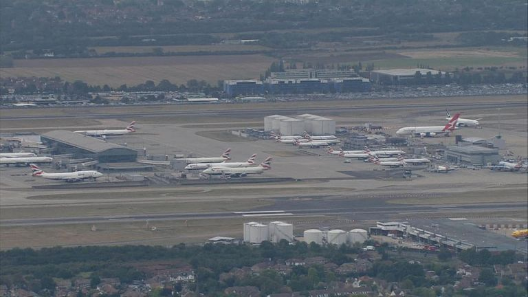 Hundreds of BA flights have been grounded following the strikes