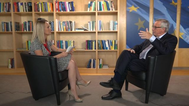 Jean-Claude Juncker tells Sky News a deal can be done on Brexit