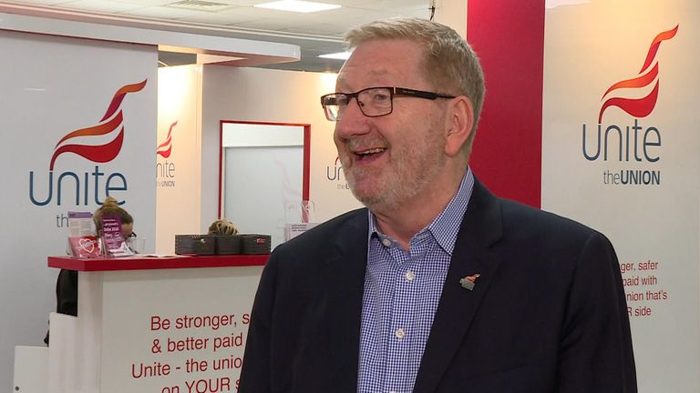 Len McCluskey, General Secretary of Unite the Union, has said the PM could face a citizens arrest if he steps foot in Scotland.