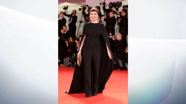 Olivia Colman at the Venice Film Festival