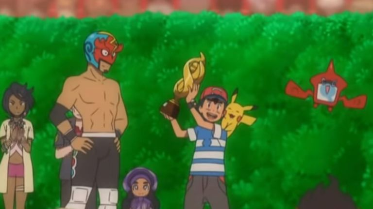 Ash has been a fixture on our screens for 22 years. Pic: The Pokemon Company