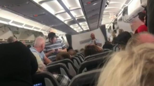 Tears after passengers donate to pay TC crew