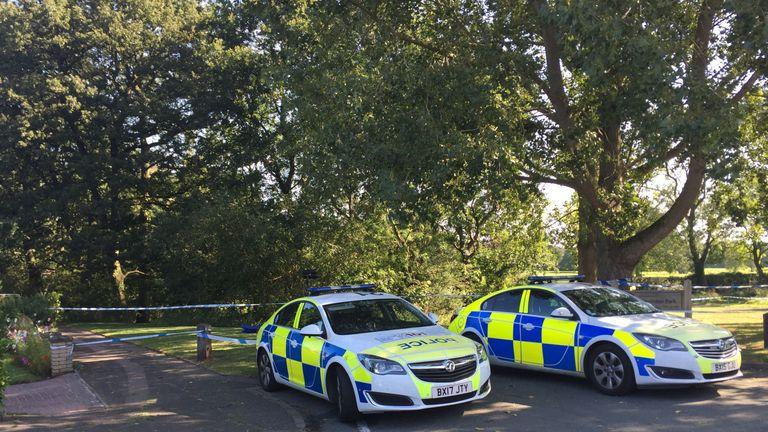 The body was found near Wigginton park in Tamworth