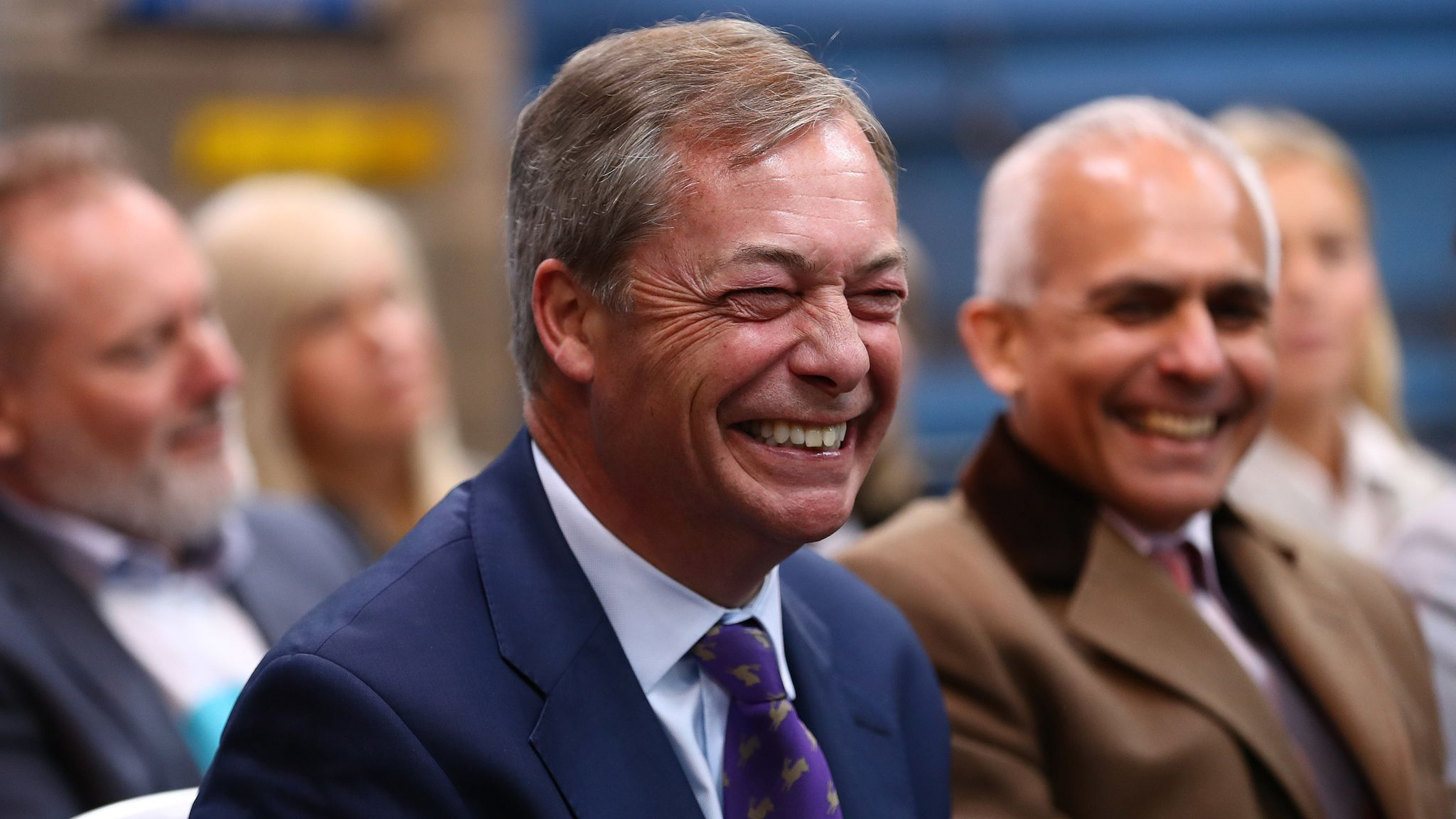 Nigel Farage Views Of His Youtube Videos Have Risen 460 In 30 Days Science Tech News Sky News