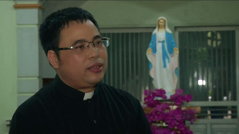 Priest, Anthony Dang Huu Nam on lorry deaths.