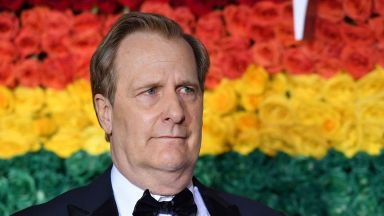 US actor Jeff Daniels attends the 73rd Annual Tony Awards at Radio City Music Hall on 9 June 2019 in New York City