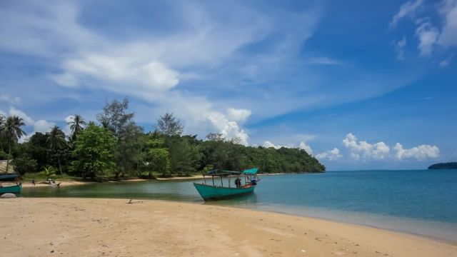Koh Rong island in Cambodia. File pic