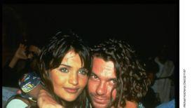 Michael Hutchence And Helena Christensen