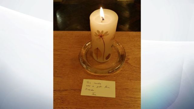 Tributes were paid at Holy Trinity church in Redhill, Surrey - where Peter and Miranda had links