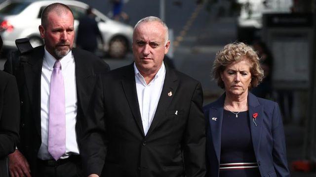 Grace Millane's parents David and Gillian arrive at Auckland High Court