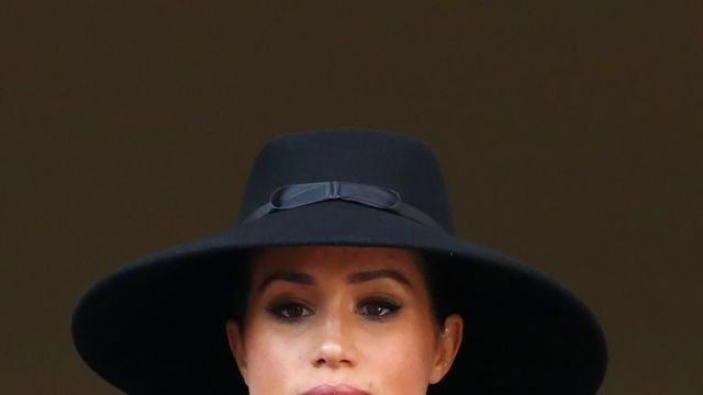 Meghan, Duchess of Sussex, at The Cenotaph