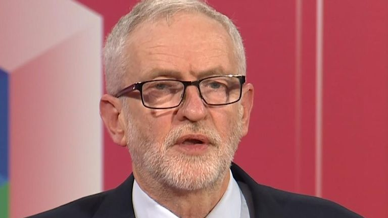 "Jeremy Corbyn says he will adopt a ""neutral stance"" in a second Brexit referendum if he is elected prime minister."