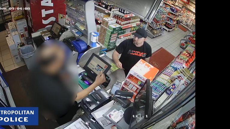 CCTV of alleged serial rapist Joseph McCann
