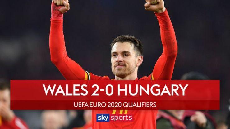 Informe del partido - Gales 2-0 Hungría 2