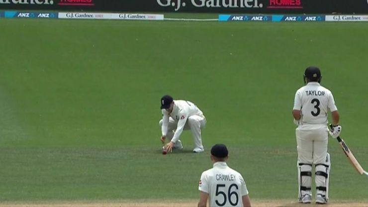 El inglés Joe Denly perdió una captura increíblemente simple en el quinto día de la segunda prueba | Noticias de Cricket 2