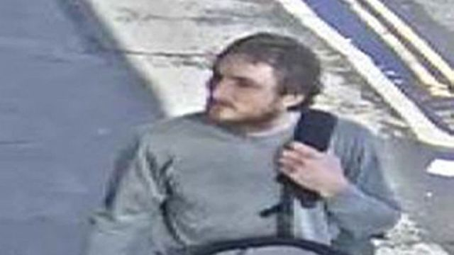 Lewis-Ranwell can be seen on CCTV on the day he carried out the killings