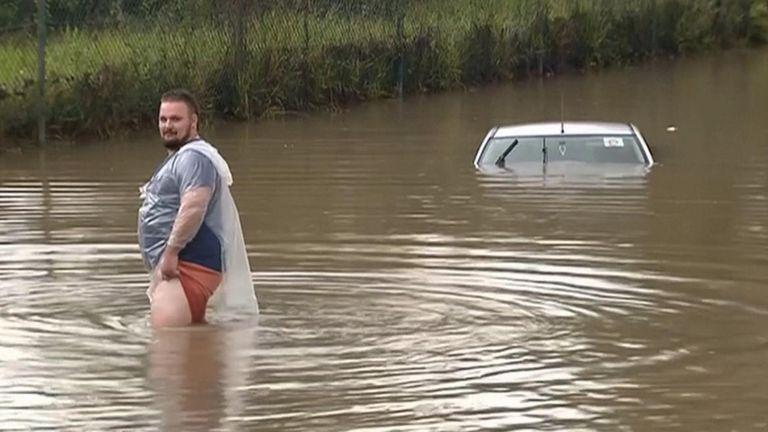 Flooding in Brisbane