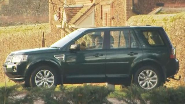 Prince Philip was seen being driven out of Sandringham on Monday ahead of the summit, which he is not attending