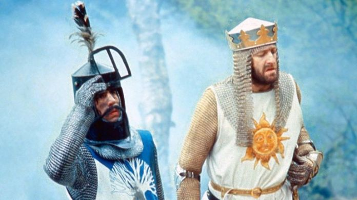 Monty Python & The Holy Grail - 1974 Terry Jones, Graham Chapman