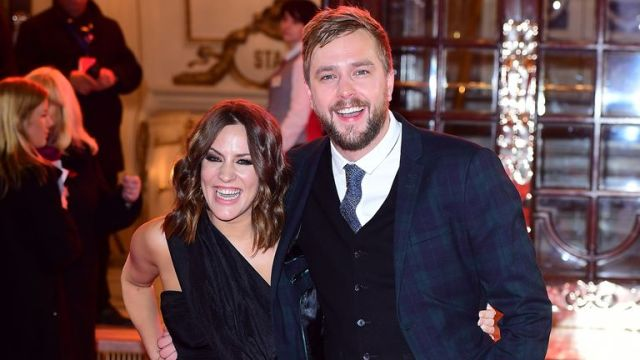 In his tribute, Iain called Caroline a 'true friend' and said: 'I'm going to miss you Caz.'
