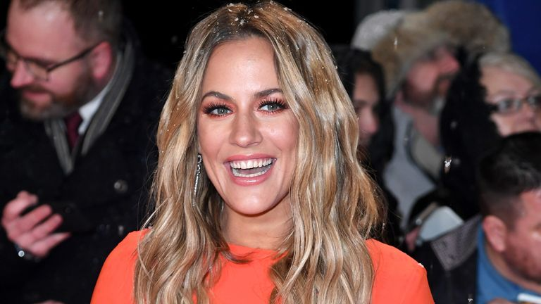 LONDON, ENGLAND - JANUARY 22: Caroline Flack attends the National Television Awards held at The O2 Arena on January 22, 2019 in London, England. (Photo by Karwai Tang/WireImage)