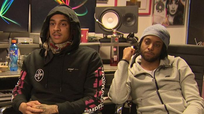 British rap duo D Block Europe are nominated for Brits best group