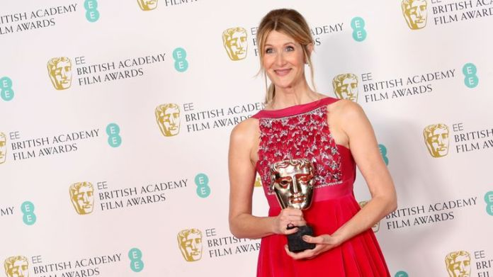 Laura Dern took best supporting actress for her role in Marriage Story