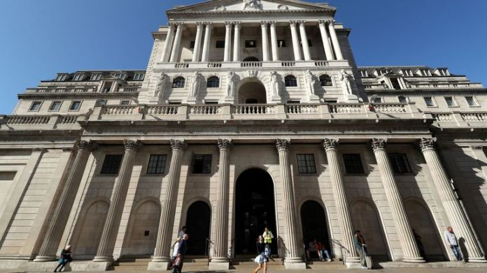 File photo dated 20/09/2019 of the Bank of England in the City of London which has announced that it has lowered its main interest rate to 0.25% from 0.75%. Photo PA. Date of issue: Wednesday, March 11, 2020. See the history of PA Rate of the city. Photo credit should read: Yui Mok / PA Wire