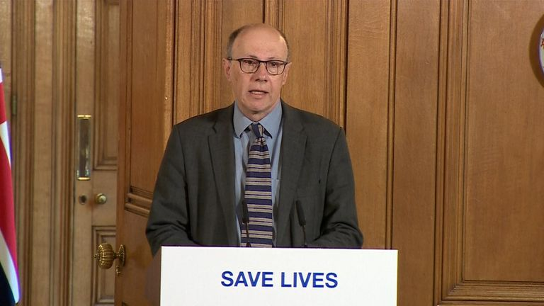 Stephen Powis, national medical director at NHS England