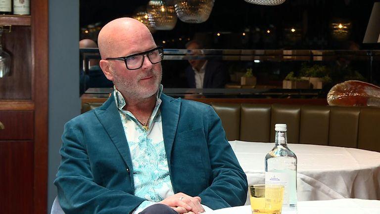 David Moore owns Pied a Terre, a Michelin-starred restaurant in Fitzrovia
