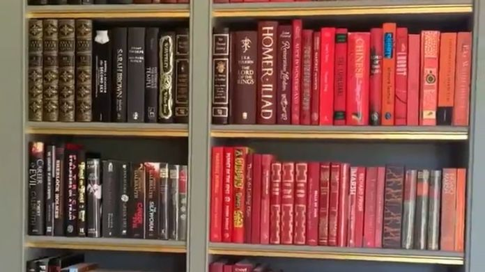 J K Rowling's Book Collection