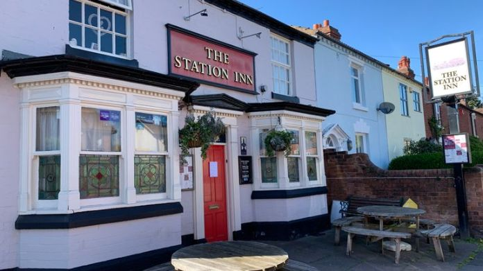 Station Inn in Kidderminster may be struggling to survive