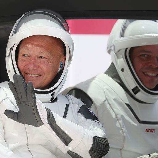 Behnken and Hurley: Who are the astronauts with astronaut wives?