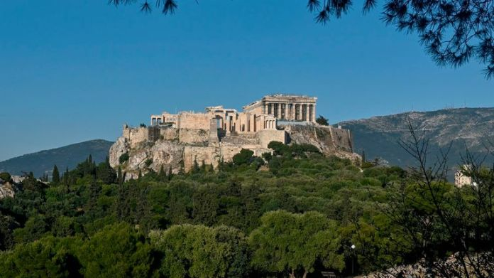 The Acropolis of Athens and other sites in ancient Greece reopened on Monday