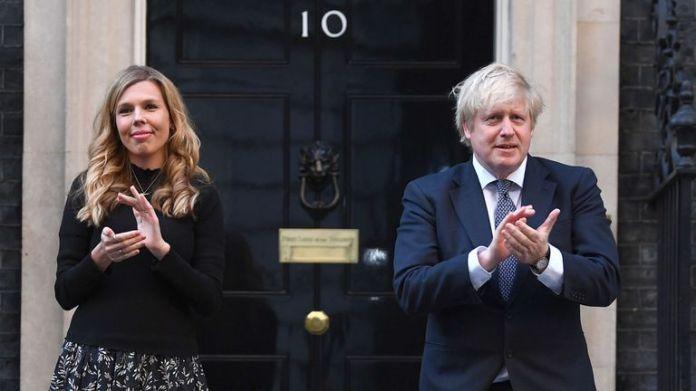 Boris Johnson et Carrie Symonds