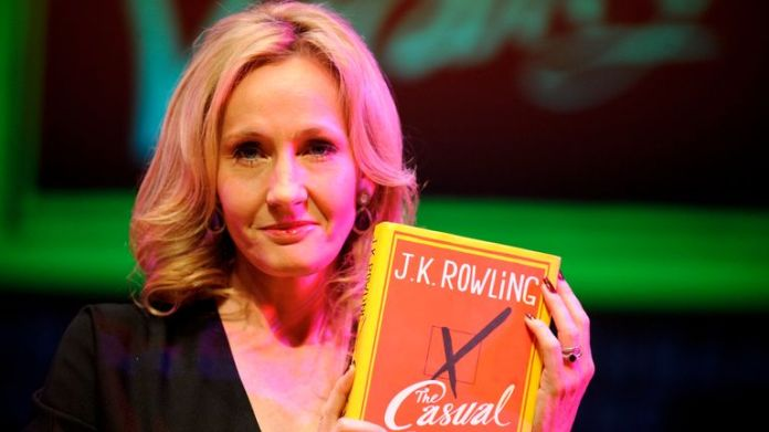 J K Rowling is the author of the Harry Potter series and other books