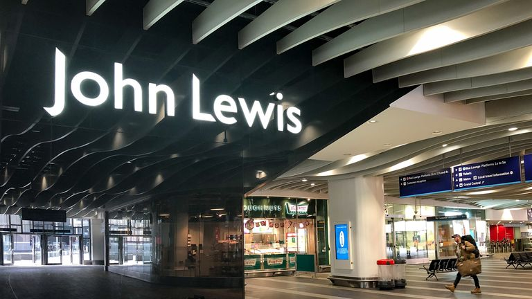 John Lewis said they are preparing for a phased reopening of their department stores.