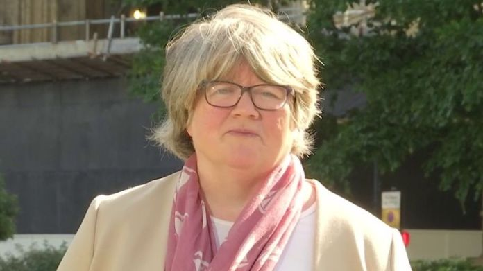 Thérèse Coffey insists government is driven by coronavirus science