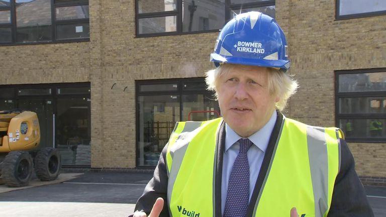 Boris Johnson on Leicester
